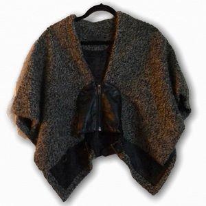 TOV holy G inc wool shawl euro size 38